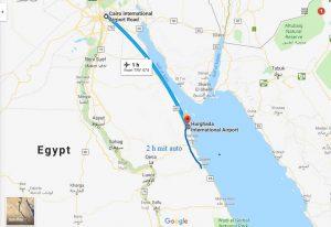 Luxor nach kairo mit flugzueg