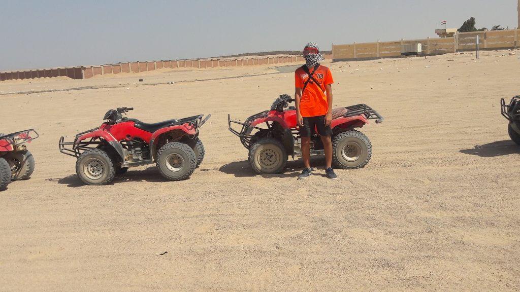 Quad Tour Hurghada Wüstensafari inkl. Abendessen
