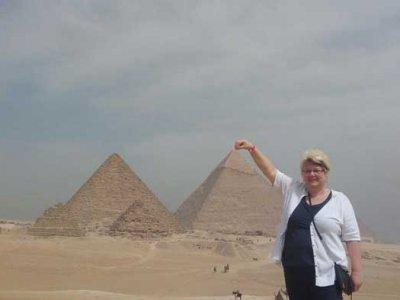 von el quseir nach kairo  Pyramiden