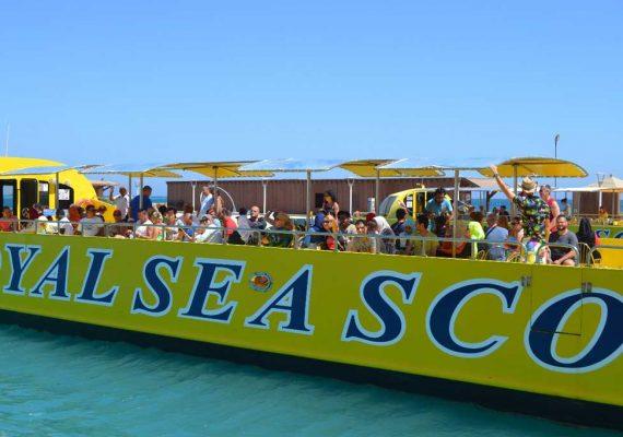 Glasbodenboot Hurghada Ausflug | Semisubmarine ab Hurghada