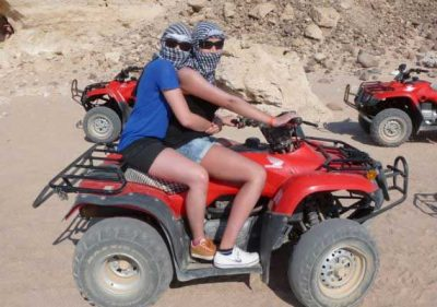 Quad tour Ägypten Makadi Bay