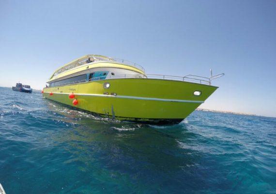 Extra Egypt Ausflug Happy auf dem Roten Meer