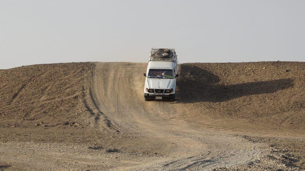 Wüstensafari ab Hurghada Jeep Tour Erlebnisausflug